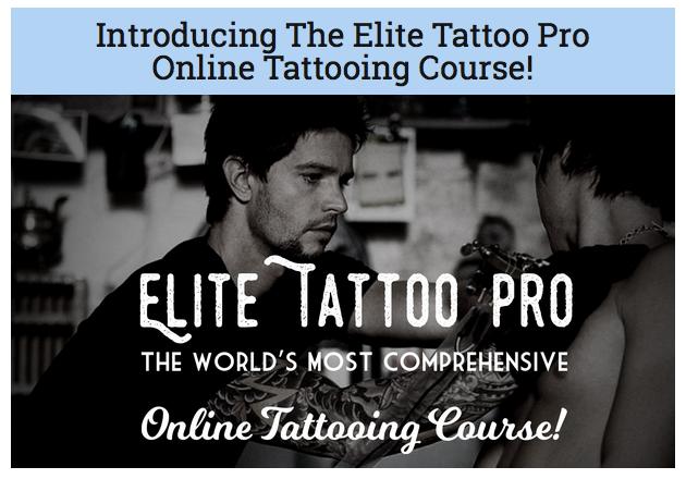 Elite Tattoo Pro - Tattooing Course