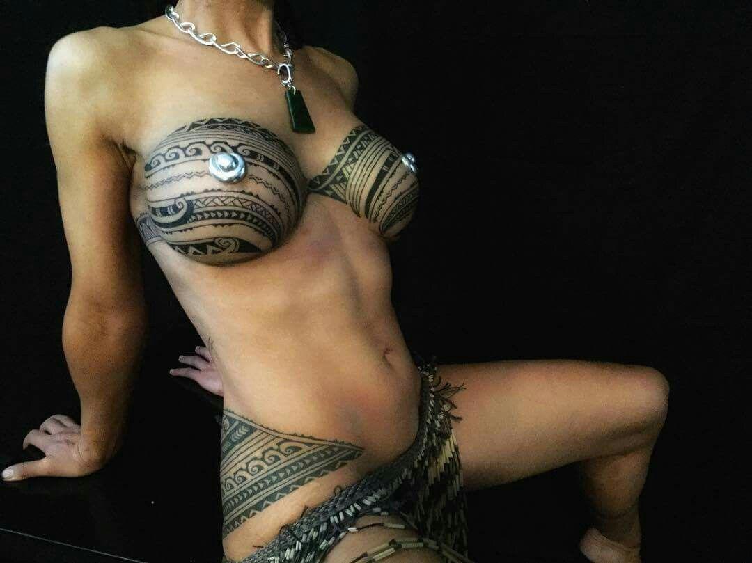 breast tattoo
