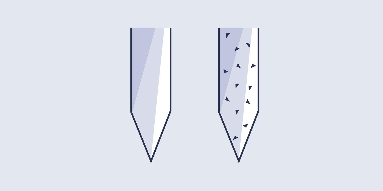 Textured Needles